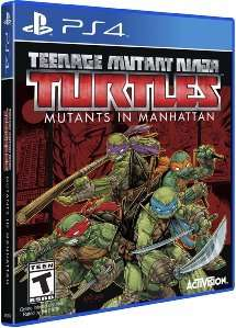 (Amazon.com) Teenage Mutant Ninja Turtles: Mutanten in Manhattan (PS4) für 16,22€