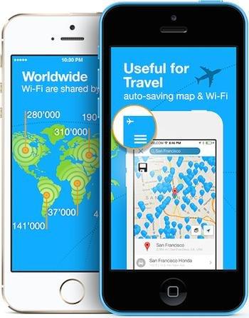 App mit über 5 Mio WLAN Passwörtern auf der ganzen Welt (auch der Flughäfen ;) )