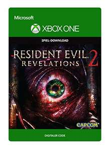 Resident Evil Revelations 2 Deluxe Edition Digital Code für Xbox One 9,99€ (Amazon.de)