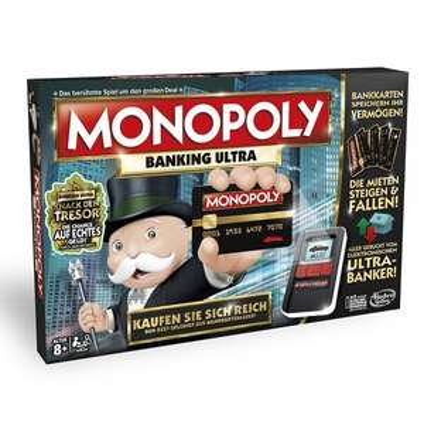 (Amazon Prime) Hasbro Monopoly Banking Ultra für 23,99€