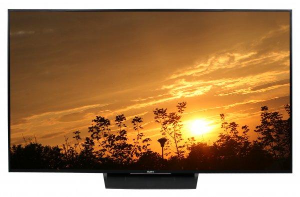 Lokal riesiger Sony KD 65 XD 8505 4K TV