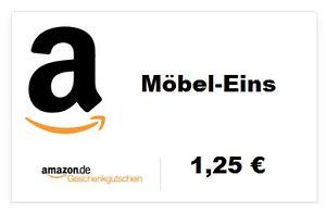 Amazon Gutschein bei eBay für 1,00 €