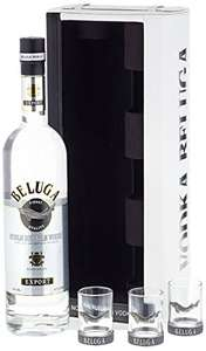 [Lokal Edeka 33,99 statt 65,90] Beluga Noble Export Vodka in Ledertragetasche (Weihnachtsgeschenk?!)