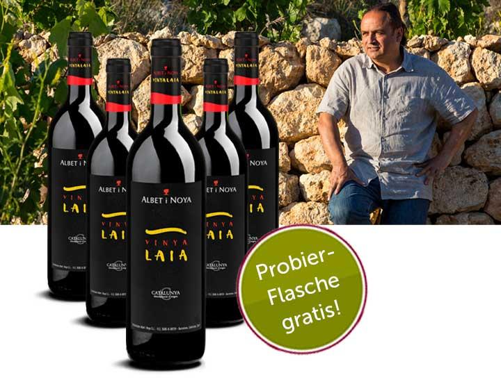 Gratis Wein Vinya Laia incl. Versand im Wert von 10,90€
