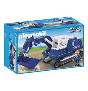 PLAYMOBIL® City Action THW Bagger 5093 @ Galeria Kaufhof
