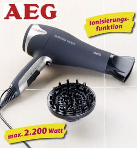 [lokal Nürnberg] AEG HTD 5595 Haartrockner / Fön StiWa gut (2,5) für 12 EUR statt 19 EUR Norma Sündersbühl