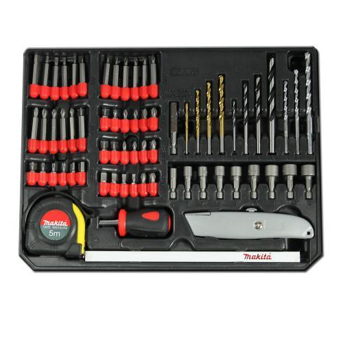Makita Profiwerkzeug Zubehör-Set - 67 teilig - für 9.99€ @ Dealclub