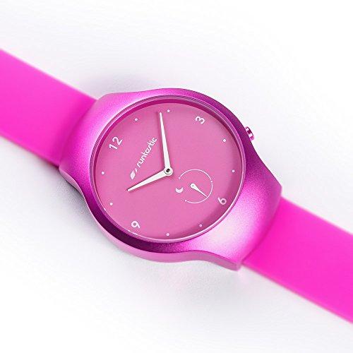 [Amazon] Runtastic Moment FUN Uhr & Aktivitätstracker (mit Silikonband) Raspbery Pink für 48,12€