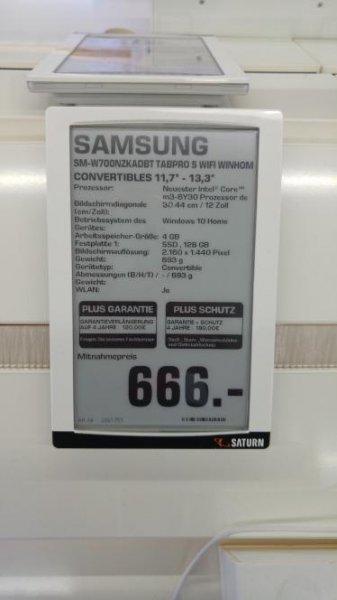 Samsung Galaxy TabPro S, Intel Core M m3-6Y30 (Skylake), 4GB RAM, 128Gb SSD [Saturn Hamm]