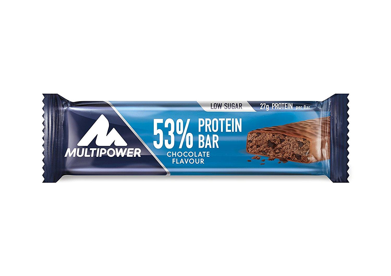 Multipower 53% Protein Bar Chocolate-Cream, 24 x 50 g (1 x 1.2 kg) für 12,84€ [Amazon Sparabo]