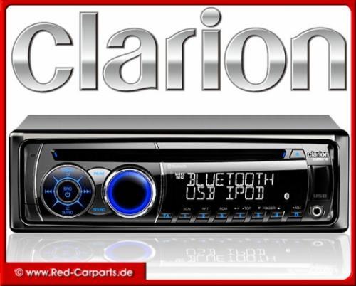 Clarion CZ501E mit Bluetooth und iPod/iPhone-Direktsteuerung CZ-501