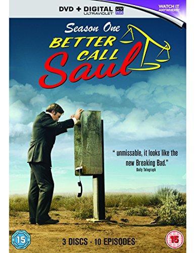 [Amazon.co.uk] Better Call Saul Staffel 1 DVD (auf Deutsch und Englisch) inkl. Versand nach Deutschland