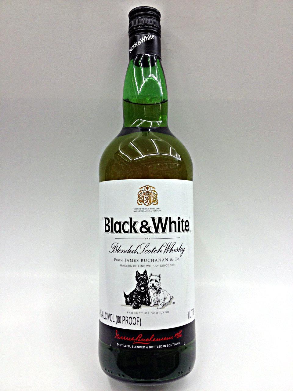 Black & White Scotch Whisky 0,7 liter für 9,99 Euro bei Aldi Nord
