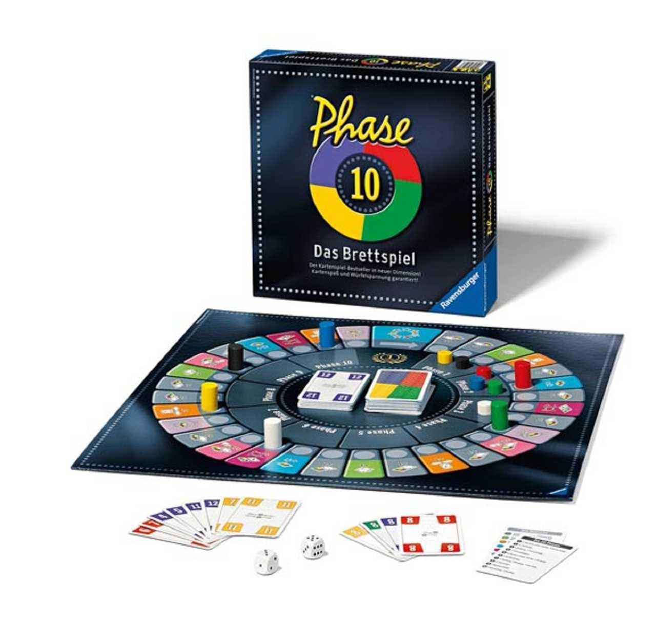 Phase 10 Brettspiel für 9,99€ (bundesweit beim Textildiscounter)