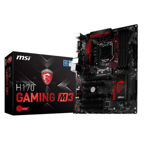 MSI H170 Gaming M3 Motherboard