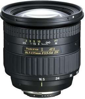 Amazon.de: Superzoom-Objektiv Tokina ATX 16,5-135/3,5-5,6 DX Objektiv für Nikon