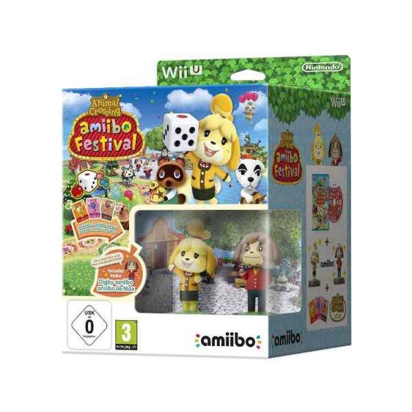 Amazon Prime Crossing: amiibo Festival + 2 amiibo-Figuren + 3 amiibo-Karten - [Wii U] für 10,28