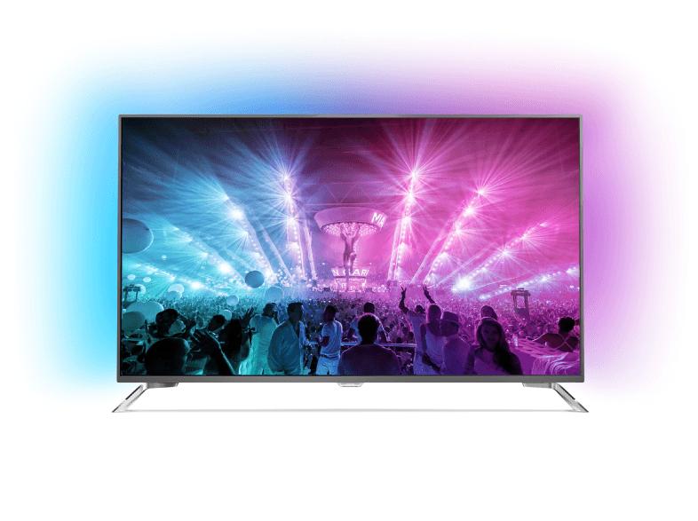 PHILIPS 65PUS7101/12, 164 cm (65 Zoll), UHD 4K, SMART TV, LED TV, 2000 PPI, DVB-T, DVB-T2 (H.265), DVB-C, DVB-S, DVB-S2 / statt 2004,63 Euro