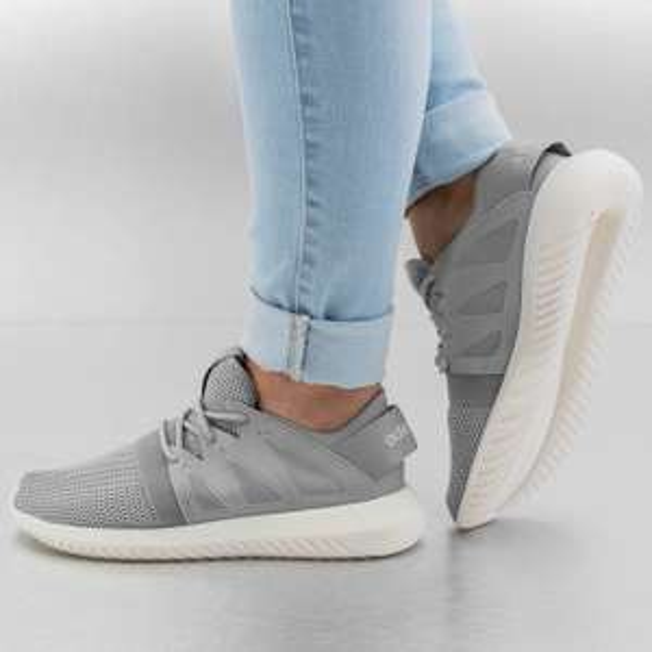 [Damen Sneaker] ADIDAS Tubular Viral (grau) 38 - 41 2/3 statt 109,99 € @Defshop