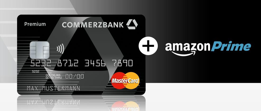1 Jahr Amazon Prime mit Premiumkonto Commerzbank