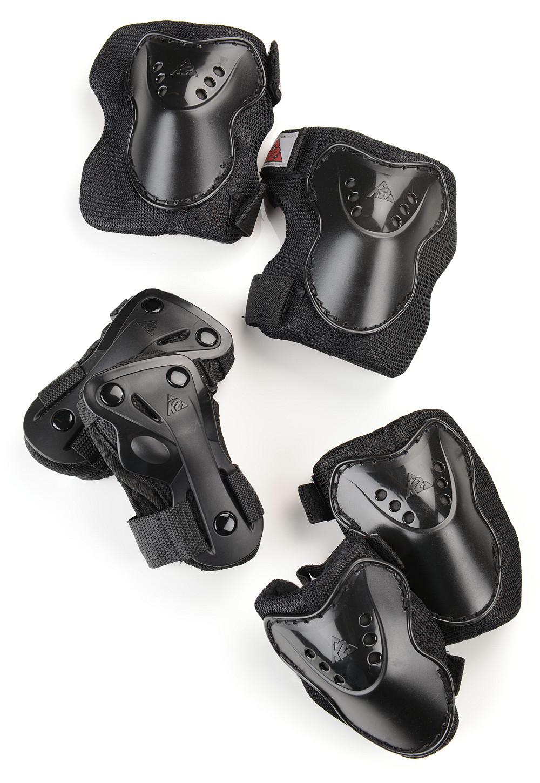K2 SK8 Hero Pro Kinder-Schutzset (Knie-, Ellbogen- und Handgelenksprotektor) für 9€ versandkostenfrei [Sportarena]