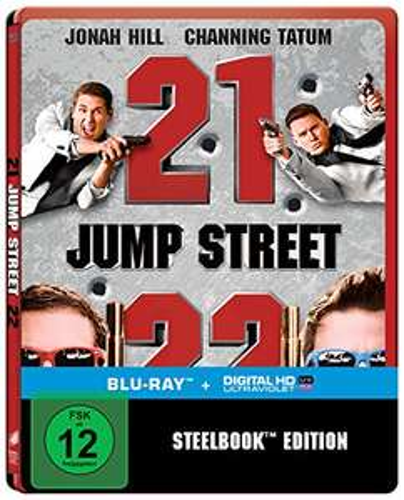 [Amazon.de] 21 + 22 Jump Street Steelbook (Blu-ray) für 11,97 €