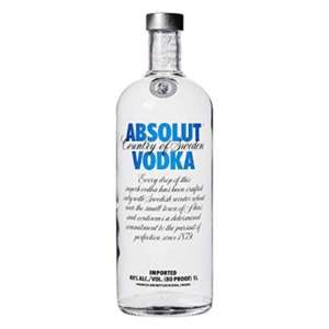 Absolut Vodka 1 LITER [Amazon (Delinero)] 15,25€