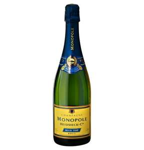 Champagner MONOPOLE HEIDSIECK blue top 0,7 Galeria Kaufhof