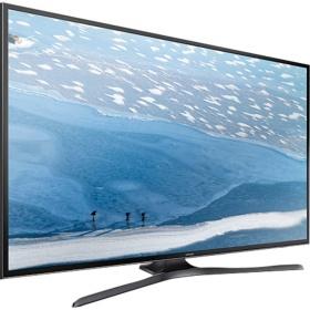 SAMSUNG UE-43KU6079, LED-Fernseher, schwarz für 531 Euro. inkl. Versandkosten
