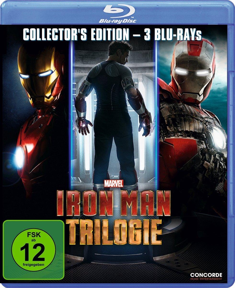 Iron Man Trilogie (Bluray) für 9,97€ [Amazon Prime]