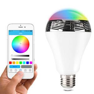 [ebay] Farbwechsel LED-Lampe mit Lautsprecher