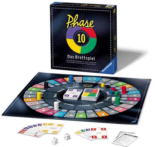 [Tedi/Kik] Phase 10 Brettspiel (10€) & Kartenspiel (5€) Sonderposten bundesweit
