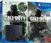 Sony PlayStation 4 1TB Slim + Code für Call Of Duty: Modern Warfare und Call Of Duty: Infinite Warfare für 294,99€ inkl. Versand (Redcoon)