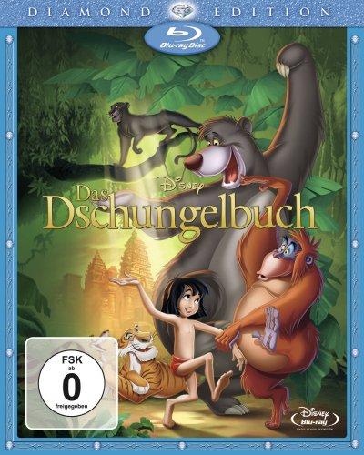 """Verschiedene Disney Blu-Rays u.a. """"Das Dschungelbuch"""", """"Alice im Wunderland"""" und """"Rapunzel"""" für 7,99 € [Amazon Prime]"""