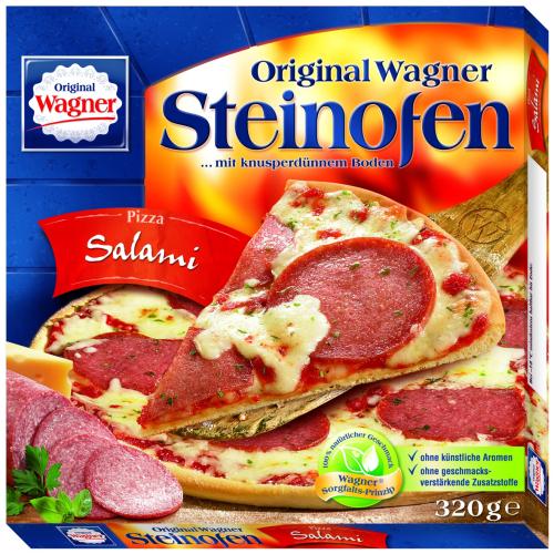 Original Wagner Steinofen Pizza (verschiedene Sorten) für 1,60€ [NETTO mit dem Scottie]