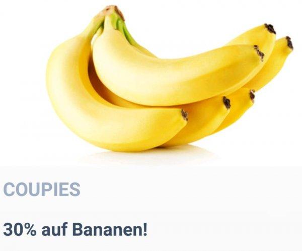 [Coupies] 30% auf Bananen