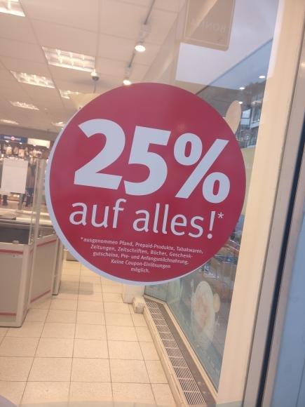 [Gummersbach] 25% auf alles bei Rossmann
