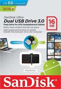 16 GB USB 3.0 Dual Stick - PC/Handy Stick