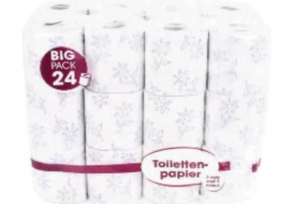 [Groupon] 14.000 Blatt Toilettenpapier fürx27s Gästeklo