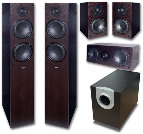Soundpick - System Fidelity SF-3000 (Wenge) 5.1 Lautsprecher-Set (für Einsteiger)