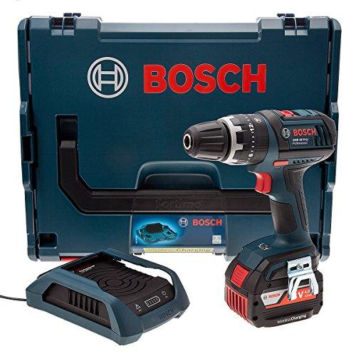 Bosch GSB18V-LIDS Akku-Schlagbohrschrauber 1x18V 4Ah + Ladegerät wireless + L-boxx