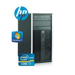 [refurbished] Desktop-PC HP 8300 Elite Microtower, i7-3770, 8GB RAM, 120GB SSD, WIN7