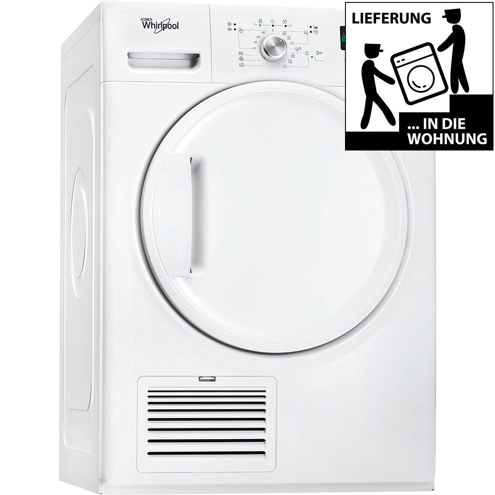 WHIRLPOOL DDLX 80110 Kondenstrockner Wäschetrockner Frontlader EEK: B 8 kg NEU (Limal via ebay)