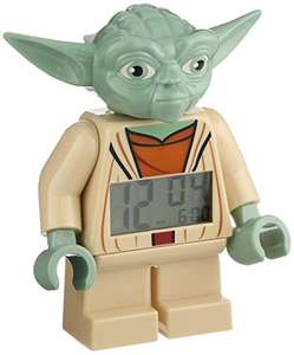 Lego Wecker Star Wars Minifigur Yoda (Clone Wars) für 16,25 bei [Amazon.co.uk]