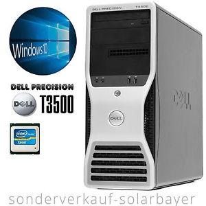 Dell T3500 - Intel Hexa Core L5640 bis 2.8GHz, 6GB RAM, 1TB HDD, Quadro 295 Grafik, Win 10 Prof für 225€ [- 7,5% Payback -> 208,13€]
