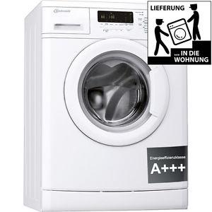 BAUKNECHT WA Care 824 PS Waschmaschine Frontlader A+++ 1400UpM 8kg Unterbaufähig [eBay Limal]