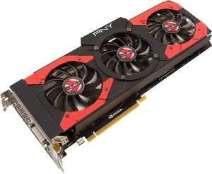 PNY GeForce GTX 1070 XLR8 OC Gaming für 376,96€ [Vorbestellung] [Amazon.it]
