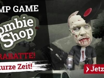 Zombie-Apokalypse Emp: Zombies abknallen und satte Rabatte auf das Sortiment bekommen