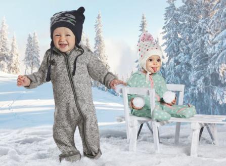Fleece-Overall für Jungs und Mädchen für 8,99€ + VSK bei [Lidl Online] + noch mehr günstige Kinderkleidung