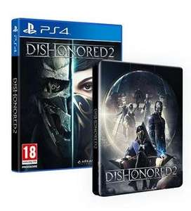(Amazon.fr) Dishonored 2 + Steelbook (PS4/Xbox One) für 53,91€